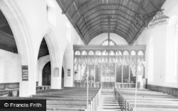Loftus, St Leonard's Church, Interior c.1960