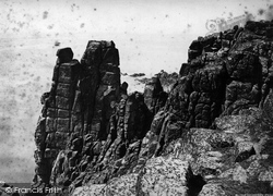 Logan Rocks, Tol Peden Penwith c.1876