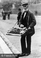London, A Ginger Cake Seller, Greenwich 1884