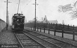 London, Alexandra Palace And Tram 1902