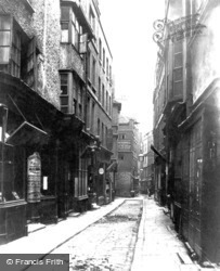 Bell Yard, Fleet Street c.1875, London
