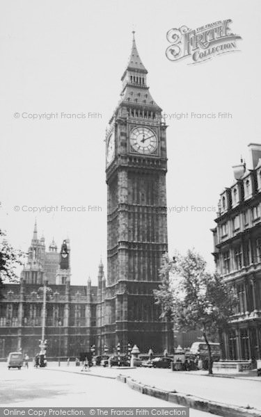Photo of London, Big Ben c.1960