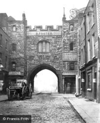 Clerkenwell, St John's Gate c.1870, London