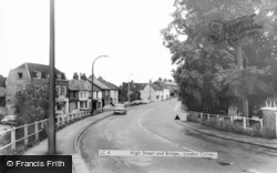 London Colney, High Street And Bridge c.1965