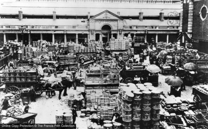 London, Covent Garden 1900