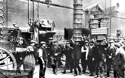 Covent Garden, Market Porters 1900, London