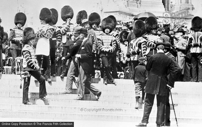 Photo of London, Albert Memorial 1897, ref. L130011
