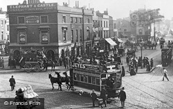 Elephant And Castle 1885, London