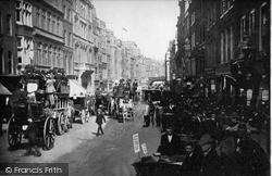 London, Fleet Street, Looking East c.1895