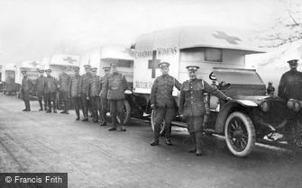 London, Grove Park Road, 27th Field Ambulance 1915