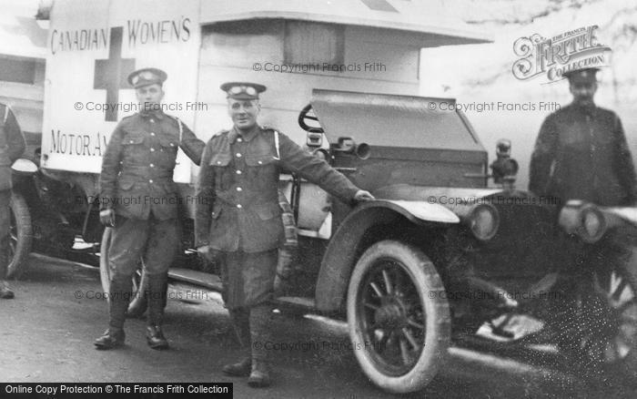Photo of London, Grove Park Road, Canadian Woman's Motor Ambulance 1915