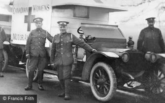 London, Grove Park Road, Canadian Women's Motor Ambulance 1915