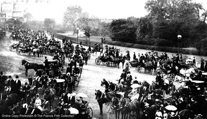 Photo of London, Hyde Park 1890, ref. L130105