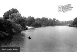 Hyde Park, View From Serpentine Bridge 1899, London