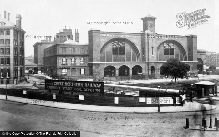 Photo of London, Kings Cross Station c1886, ref. L130067