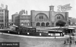 King's Cross Station c.1886, London