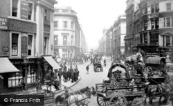 London, King William Street 1880
