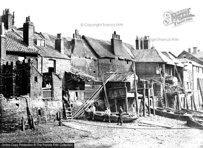 London, Lambeth Riverside c1880
