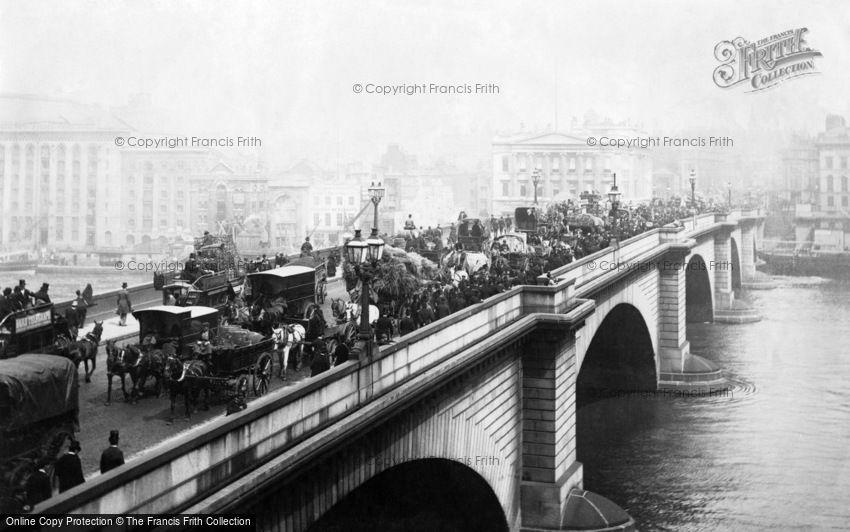London, London Bridge 1890