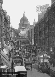 Ludgate Hill And Circus 1897, London