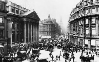 London, Mansion House and Cheapside 1890