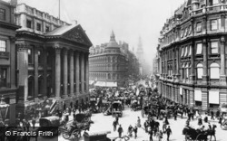Mansion House And Cheapside 1890, London