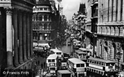 London, Mansion House & Cheapside c.1949