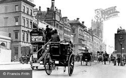 London, Parliament Street 1897