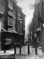 Peter's Lane, Clerkenwell c.1880, London