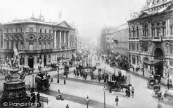 London, Piccadilly Circus c.1895