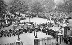 Queen Leaving Buckingham Palace, Jubilee Day 1897, London