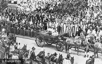 London, Queen Victoria at her Diamond Jubilee Celebrations 1897