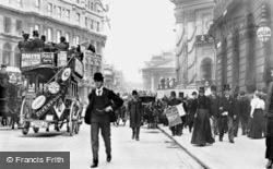 London, Queen Victoria Street 1897