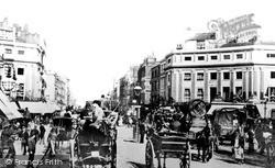 London, Regent Circus 1890