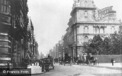 London, St James Street, Pall Mall c.1880