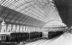 St Pancras Station c.1886, London