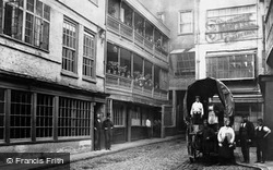 The George Inn, Southwark c.1875, London