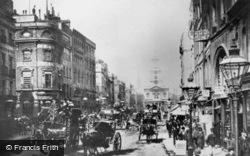 London, The Strand 1890