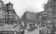 London, the Strand and Charing Cross c1895