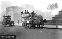 Trafalgar Square c.1890, London