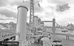 View Of Tower Bridge From HMS Belfast 2012, London
