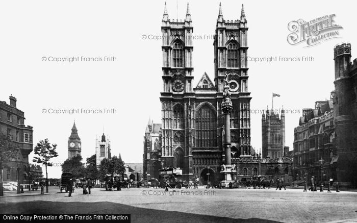 Photo of London, Westminster Abbey 1908, ref. L130150