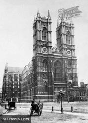 London, Westminster Abbey c.1867