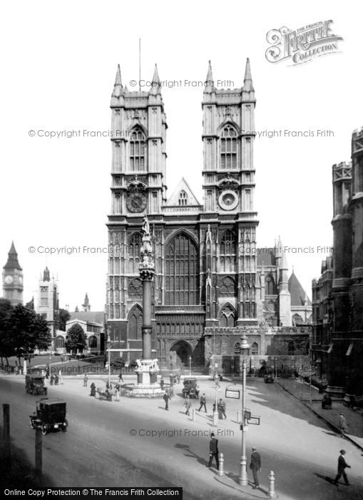 Photo of London, Westminster Abbey c.1920