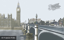 Westminster Bridge c.1900, London