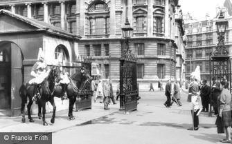 London, Whitehall, the Horse Guards c1960