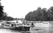 Long Ditton, the River c1955