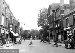 Market Place And The Green c.1950, Long Eaton