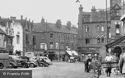 Market Place c.1950, Long Eaton
