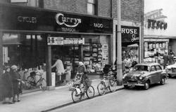Shops Along The High Street c.1960, Long Eaton